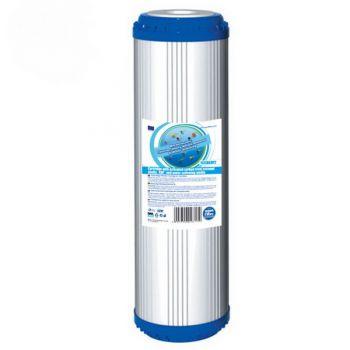 10'' Φίλτρο Ενεργού Άνθρακα GAC + KDF + ρητίνης αποσκλήρυνσης της AQUAFILTER