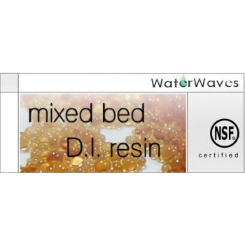 Mixed bed DI resin